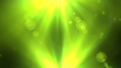 Abstract Shapes Motion Background with Lens Flares Stock Footage
