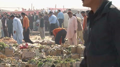 Fruit Market Blast in Islmabad on April 9th, 2014 Stock Footage