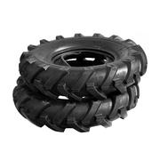 Cultivator tyre - stock photo