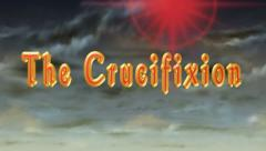 The Crucifixion, 3D title animation for videos HD Stock Footage