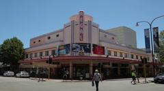 The regal theatre, hay street, subiaco, perth, australia Stock Footage