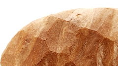 Loaf of bread macro dolly Stock Footage