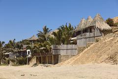Stock Photo of accommodation in mancora, peru