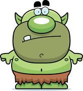 Stock Illustration of cartoon goblin