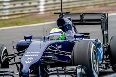 team williams f1, felipe massa, 2014 - stock photo