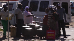 Township life,South Africa Stock Footage