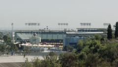2.5K  Los Angeles Dodgers Stadium Tilt Stock Footage