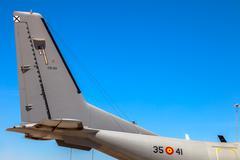aircraft casa c-295 - stock photo