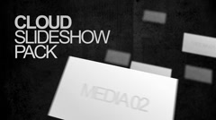 Cloud Slideshow Pack Stock After Effects
