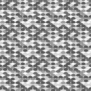 Seamless greyscale pattern Stock Illustration