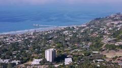 La Jolla California Coastline View Stock Footage