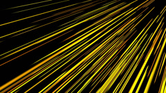 Beautiful generated Speed lines neon,virtual striped data,fantasy spread road. Stock Footage