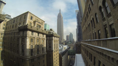 Empire State Building  - Metropolis in 3k Stock Footage