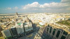 Deira part of dubai city time lapse Stock Footage