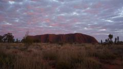 Ayers Rock Uluru  Australian Outback Stock Footage