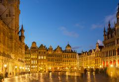 Grand Place Town Square, Brusseles - stock photo