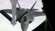 Stock Video Footage of F-22 Raptor aerial refueling, The Hawaii Air National Guards Sentry Aloha Team