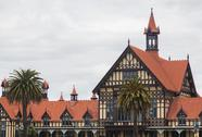 Stock Photo of rotorua museum and government park nz