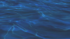 Blue water Material texture,abstract color underwater pattern,Ocean River&lake. Stock Footage