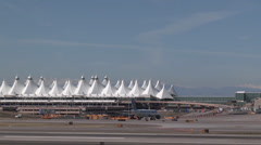 Denver International Airport Stock Footage