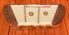 Thai wooden dulcimer musical instrument Stock Photos