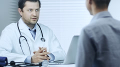 Medical Consultation - stock footage