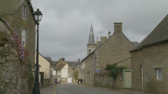 Flers (Normandy) street scene Stock Footage