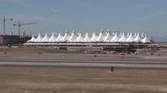 Denver International Airport - stock footage