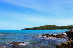 Beautiful tropical seascape. Stock Photos