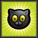 Stock Illustration of black cat
