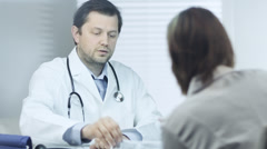 Medical Consultation Stock Footage