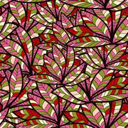 Abstract background of petal and wave Stock Illustration