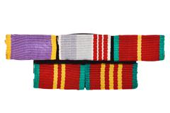 Military awards Stock Photos