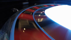 Casino Roulette Shooting ball camera fix Stock Footage