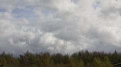 Clouds timelapse springtime-5 Stock Footage