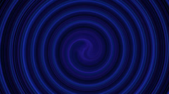 Abstract hypnotic spiral - stock footage