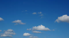Clouds timelapse motion background Stock Footage