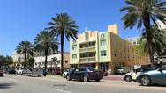 Miami Beach Art Deco 2 The Berkeley Shore Stock Footage