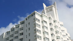 Miami Beach Art Deco 6 Delano Stock Footage