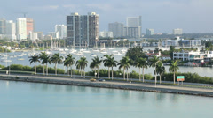 Miami Morning 3 Stock Footage