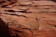 Stock Photo of detail layers of red sandstone,