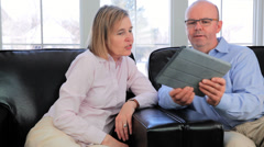Happy Mature Married Couple - stock footage