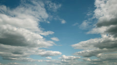 Clouds Passing - Time Lapse - stock footage