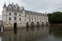Castle of chenonceau Stock Photos