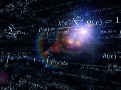 Visualization of Mathematics - stock illustration