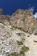 Dolomiti - Cir mount - stock photo