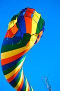 Multi colored kite Stock Photos