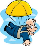 Golden parachute Piirros