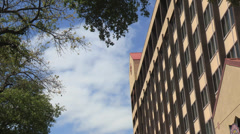 Generic Hotel or Multi Storey Building - stock footage