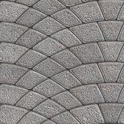 Concrete Granular Pavement. Seamless Tileable Texture. - stock illustration